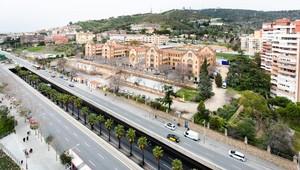 Las obras cubrirán la ronda de Dalt entre el Instituto Vall d'Hebron (en imagen) y el Mercado de la Vall d'Hebron.