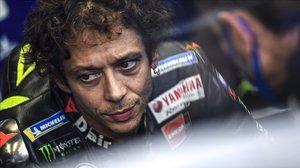 Valentino Rossi dona positiu en Covid-19