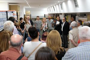 La botiga Aliments Solidaris de Sant Boi es trasllada a un local més ampli i funcional
