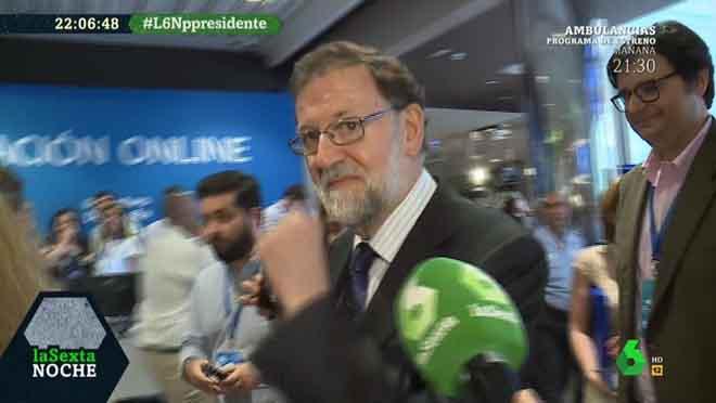 La mirada de Rajoy (La sexta noche).