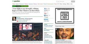 'The Guardian' rendeix homenatge a Tito Vilanova