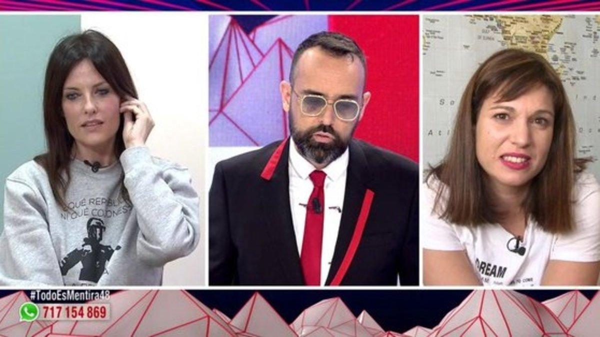 Carles Puigdemont y Beatriz Talegón denuncian a Cristina Seguí por sus palabras en 'Todo es mentira'