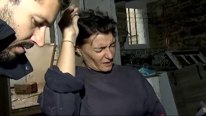 Vídeo con declaraciones de la española afectada por la riada derivada del paso del Leslie en el sur de Francia.