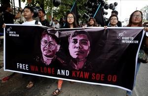 Birmània empresona dos periodistes que van revelar les matances de rohingya