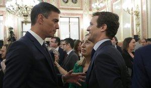 Sánchez firma el reial decret de dissolució de les Corts i la convocatòria del 28-A