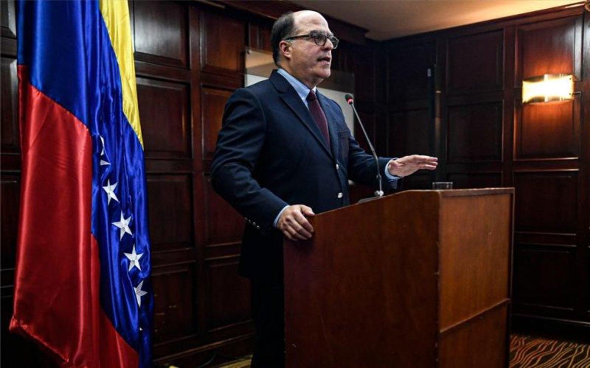 Julio Borges,comisionado para Asuntos Exteriores por Juan Guaidó.