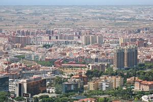 Vista de Esplugues de Llobregat.