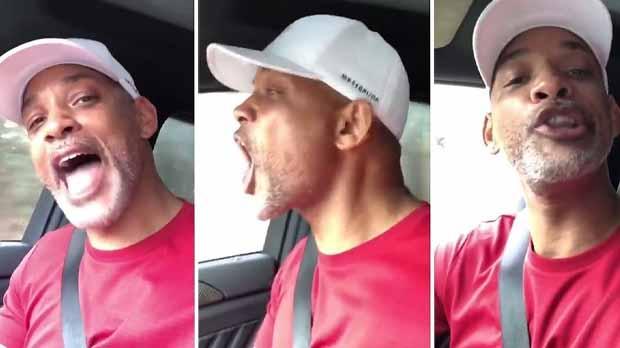 El actor estadounidense protagoniza un divertido vídeo tras las críticas por no saberse la letra de la canción.