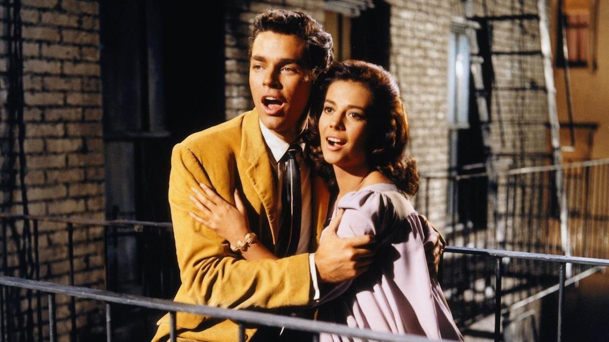 Escena de West Side Story, de Bernstein.
