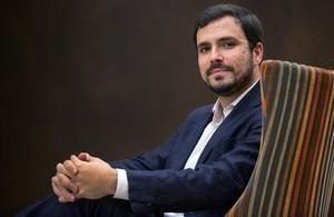 Alberto Garzón, en el Congreso de los Diputados, en Madrid.