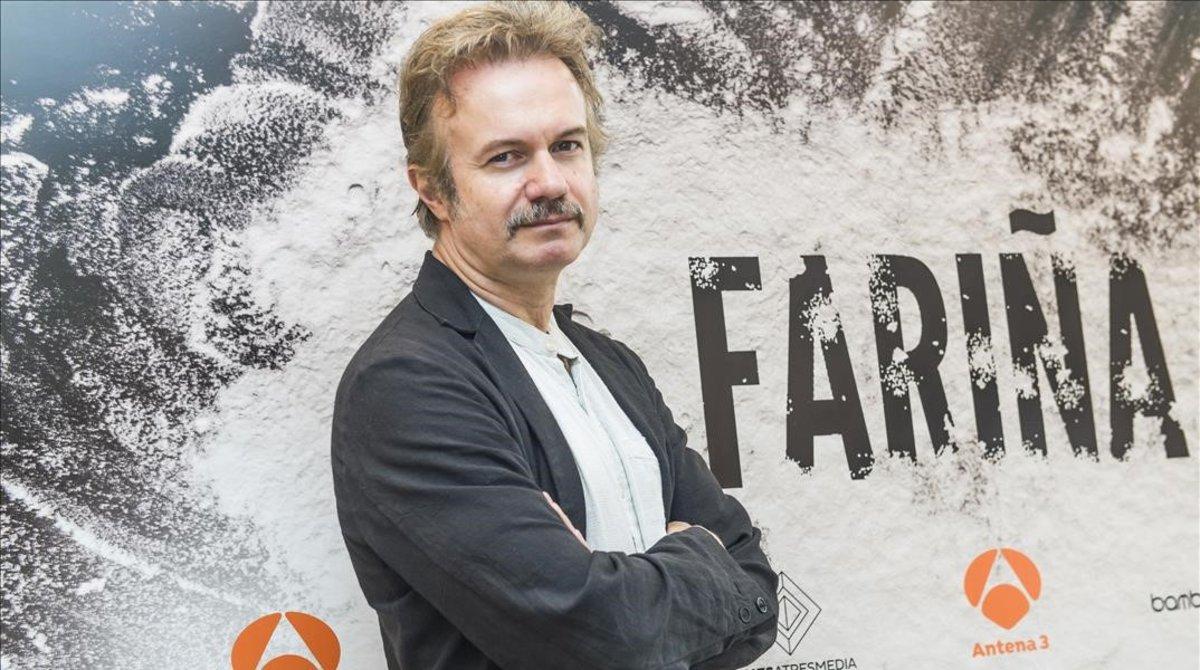 Tristán Ulloa, en una promoción de 'Fariña'.