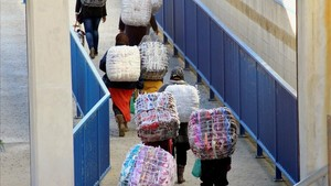 Dues dones mortes en una nova allau al costat marroquí de la frontera de Ceuta