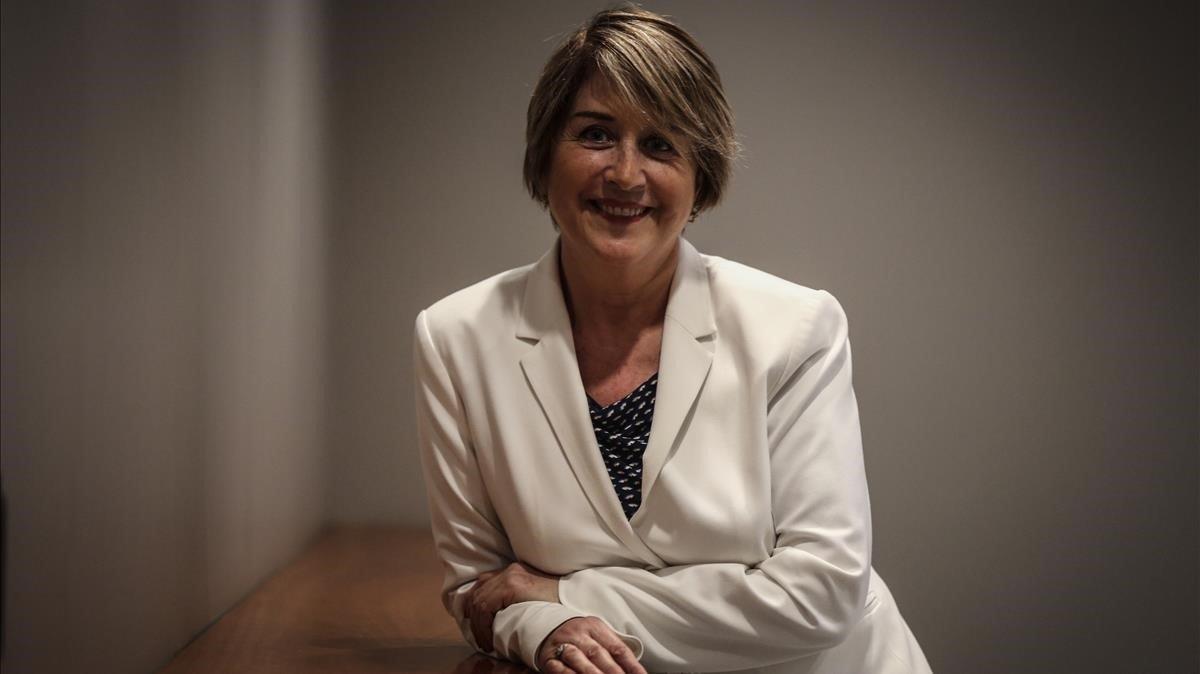 La escritora Gemma Lienas.