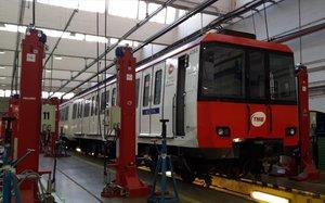 Quinze jubilats del metro de Barcelona tenen afeccions pulmonars per amiant