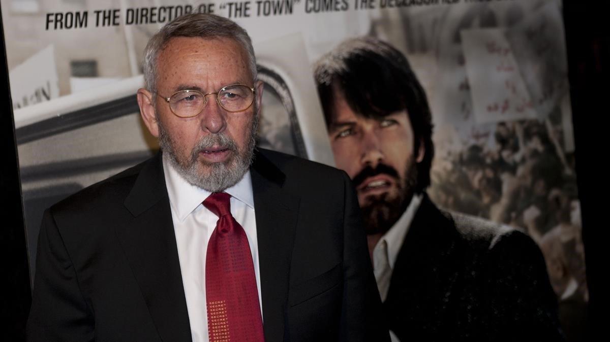 El exagente de la CIA Tony Mendes, durante el estreno de 'Argo', en el 2012.