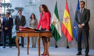 """La consellera andalusa d'Igualtat es disculpa per qualificar de """"desfilades de vanitat"""" les processons de Setmana Santa"""