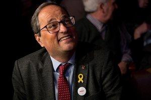 Torra promou un pacte parlamentari i social sobre la immigració