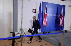 Theresa May demana a la UE un segon retard del 'brexit'