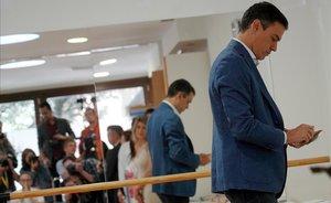 UPN s'obre a negociar la investidura de Sánchez a canvi de Navarra