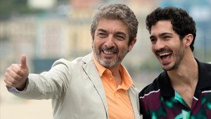 Ricardo y Chino Darín, en San Sebastián.