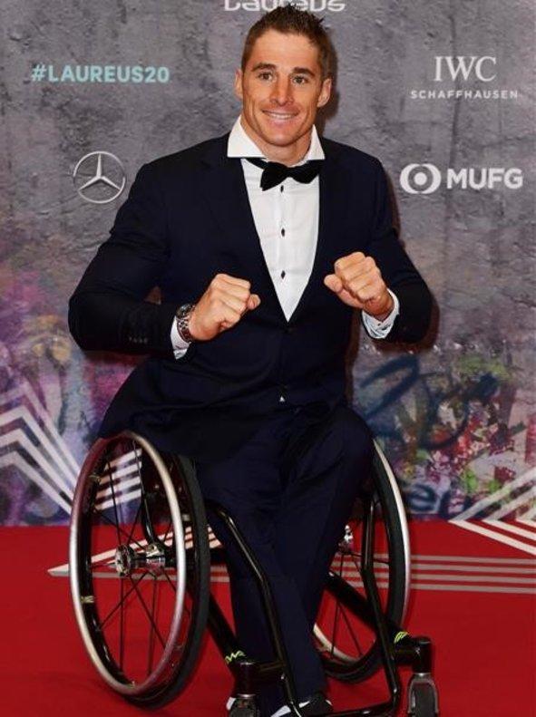 Jetze Plat, ciclista paralímpico y nominado a mejor deportista con discapacidad.