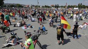 Quarantena per a 160 alemanys després d'acudir a festes familiars