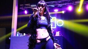 La Zowi, durante su actuación en el festival Cara B del 2019