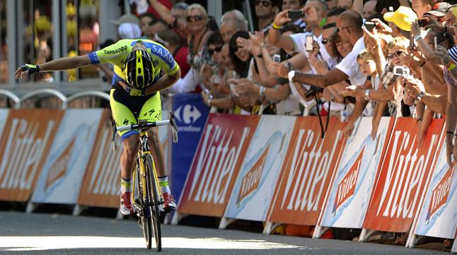 El Movistar aplana el camí del podi per a Valverde