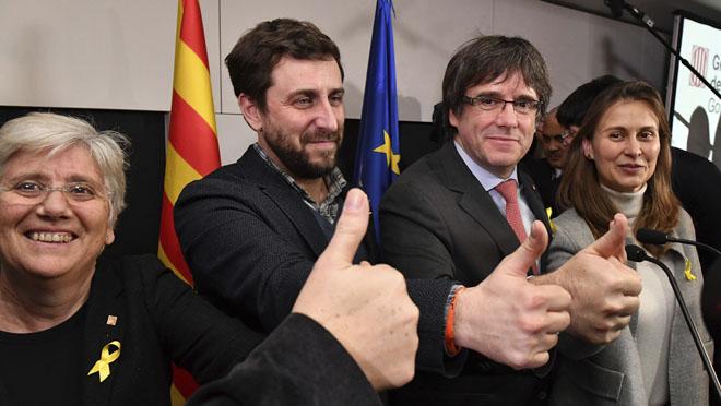 Puigdemont: La República catalana ha guanyat la Monarquia del 155