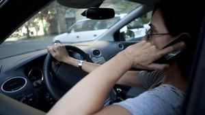 Distracción al volante