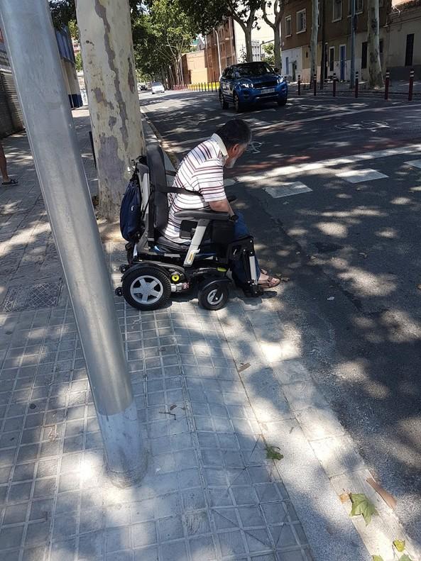 Un paso de peatones con trampa