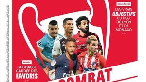'France Football' descarta a Messi del repóquer de estrellas en la Champions