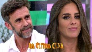 Alonso Caparrós y Anabel Pantoja, nueva pareja en 'La última cena'.