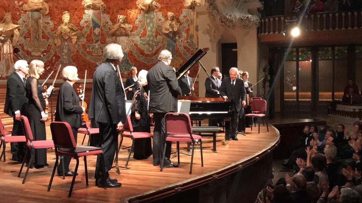 András Schiff y su formación cappella Andrea Barca, en el Palau de la Música