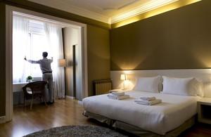 Un apartamento turístico de Barcelona.