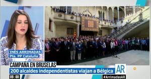 Arrimadas, presidenta del PP a Catalunya
