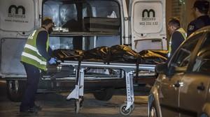 Una mujer de 73 anos acuchillada por su marido en Valencia que posteriormente se ha suicidado.