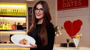 La camarera de First dates Lidia Torrent.