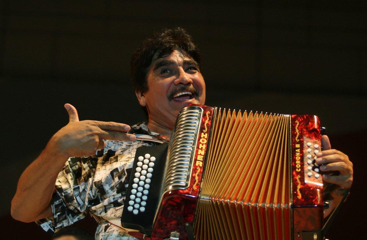 Celso Piña, el músico mexicano considerado como el rey del acordeón.