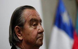 Cristián Labbé, acusado de torturar durante la dictadura de Pinochet en Chile.