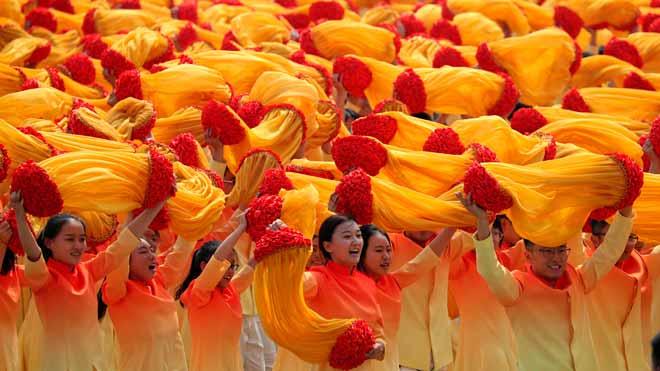 China celebra el 70 aniversario de su fundación.