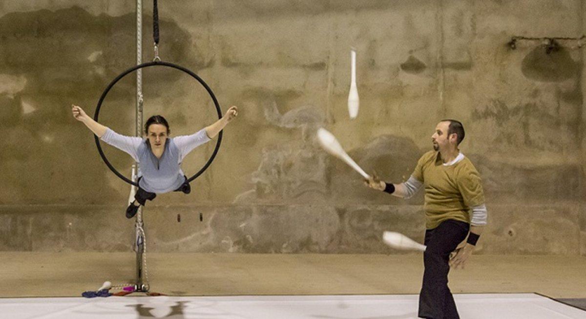 Compañía de circo Des-equilibrats.