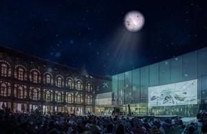 CosmoCaixa propone esta nocheuna divertida sesiónde cine al aire libre.