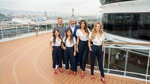 Carlos Sobera y su equipo graban 10 especiales del programa por el Mediterráneo.