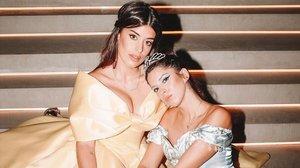 Para la fiesta de su 30º cumpleaños, Dulceidase vistió como unaauténtica princesaDisney con el vestido de Bella.