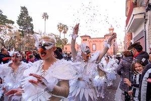 Desfile de Carnaval en Viladecans.