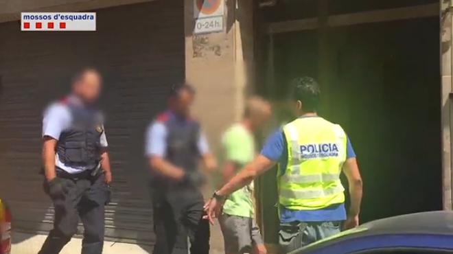 Vídeo de la detención del monitor pederasta de los Maristas en julio del 2016.