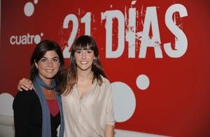 Samanta Villar y Adela Úcar, expresentadoras del programa de Cuatro '21 días'.