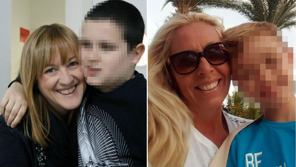 Elena Montoro (derecha) y Marta Cabello, madres de niños con autismo que están en plena guerra digital con los promotores del clorito de sodio (MMS, un derivado de la lejía).