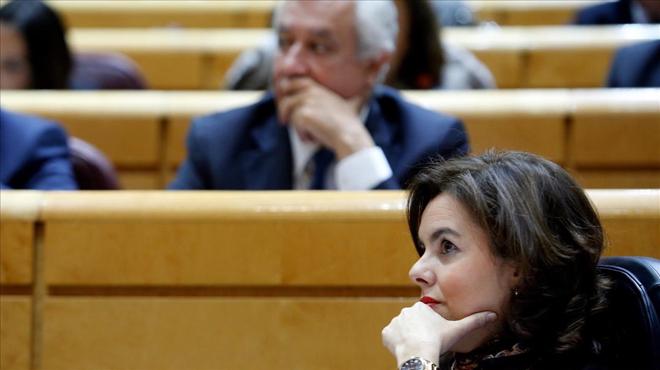 Errejón y Soraya dan vueltas a la reforma constitucional.